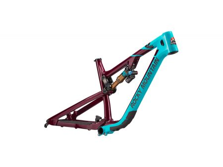 Rocky Mountain Altitude Carbon Frame Turquo Cranberry